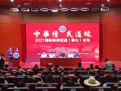 """""""2021海峡两岸武道(泰山)论坛""""新闻发布会在泰安举行"""