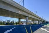 桥下可停40辆大公交 济南地铁2号线与公交接驳设施初亮相